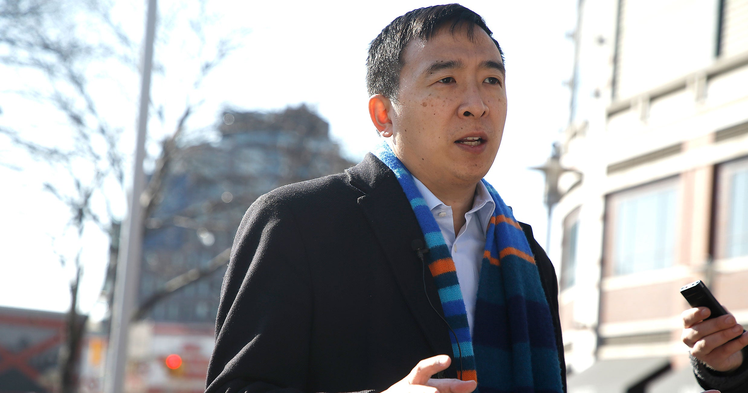 Why Everyone Is Talking About Andrew Yang's Israel Tweet