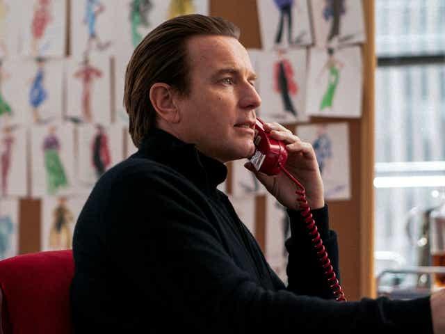 """Ewan McGregor in Netflix's """"Halston."""""""