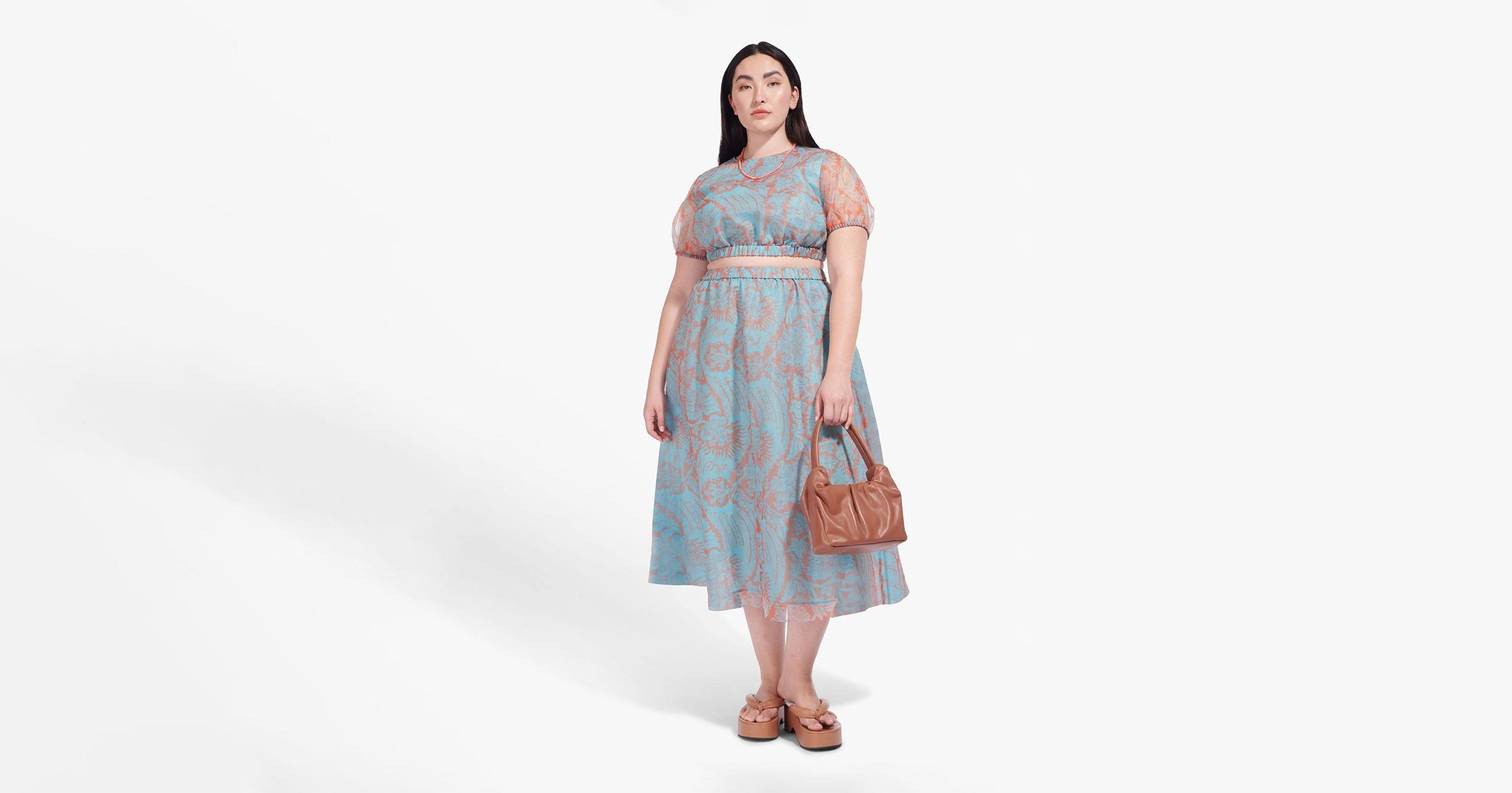 STAUD Quietly Dropped A Selection Of Plus Size Offerings
