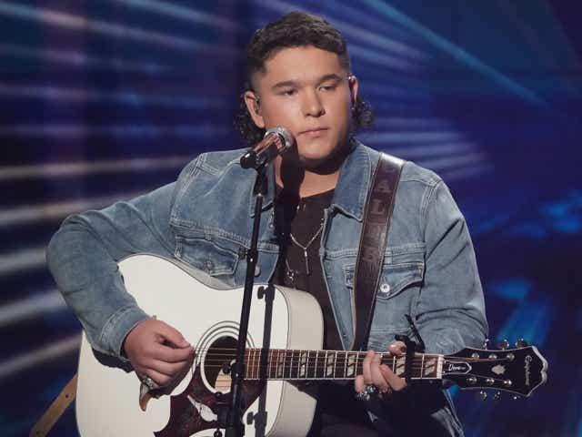 Caleb kennedy on American Idol.
