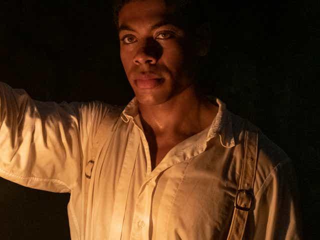 Aaron Pierre on the Underground Railroad.