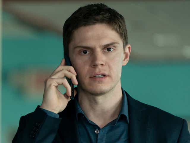 Evan Peters in the Mare of Easttown.