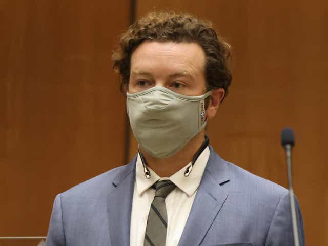 Actor Danny Masterson is arraigned on rape charges at Clara Shortridge Foltz Criminal Justice Center.