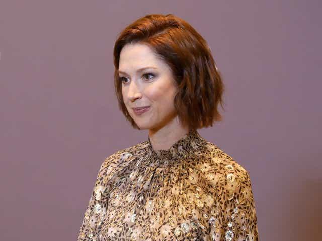 Spotlight Award honoree, Ellie Kemper attends SCAD aTVfest 2019.