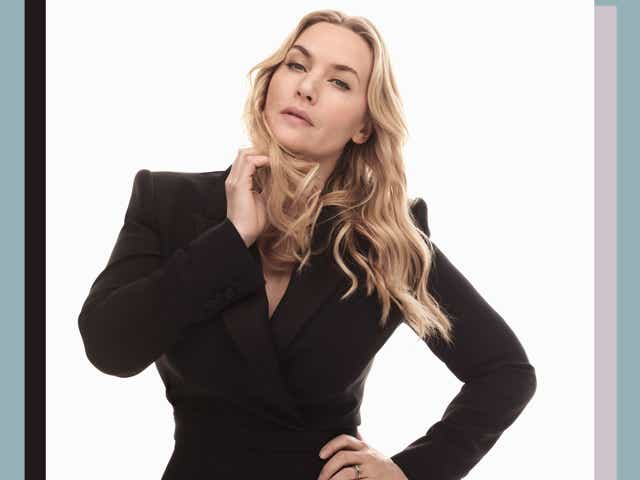 Kate Winslet poses as the new spokesperson for L'Oreal Paris.