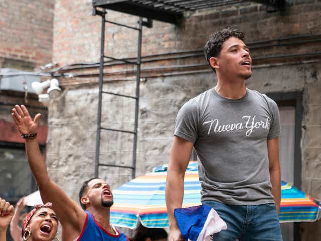 Anthony Ramos in In The Heights.