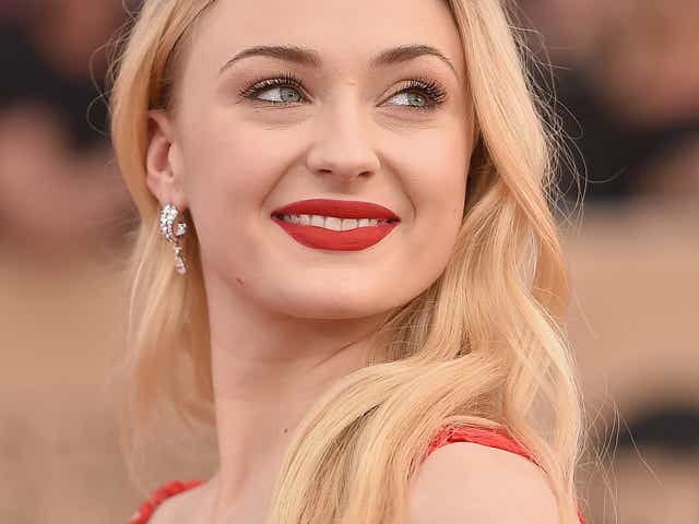 Sophie Turner attends the 23rd Annual Screen Actors Guild Awards.