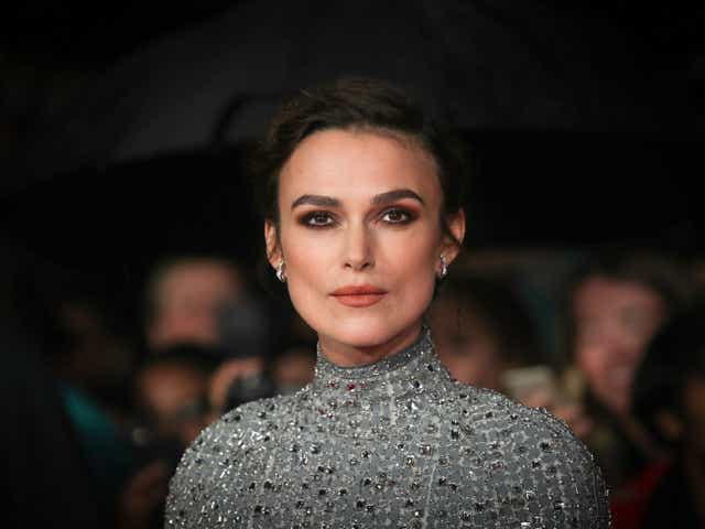 """Keira Knightley attending the UK Premiere of """"Colette"""" and BFI Patrons gala during the 62nd BFI London Film Festival"""