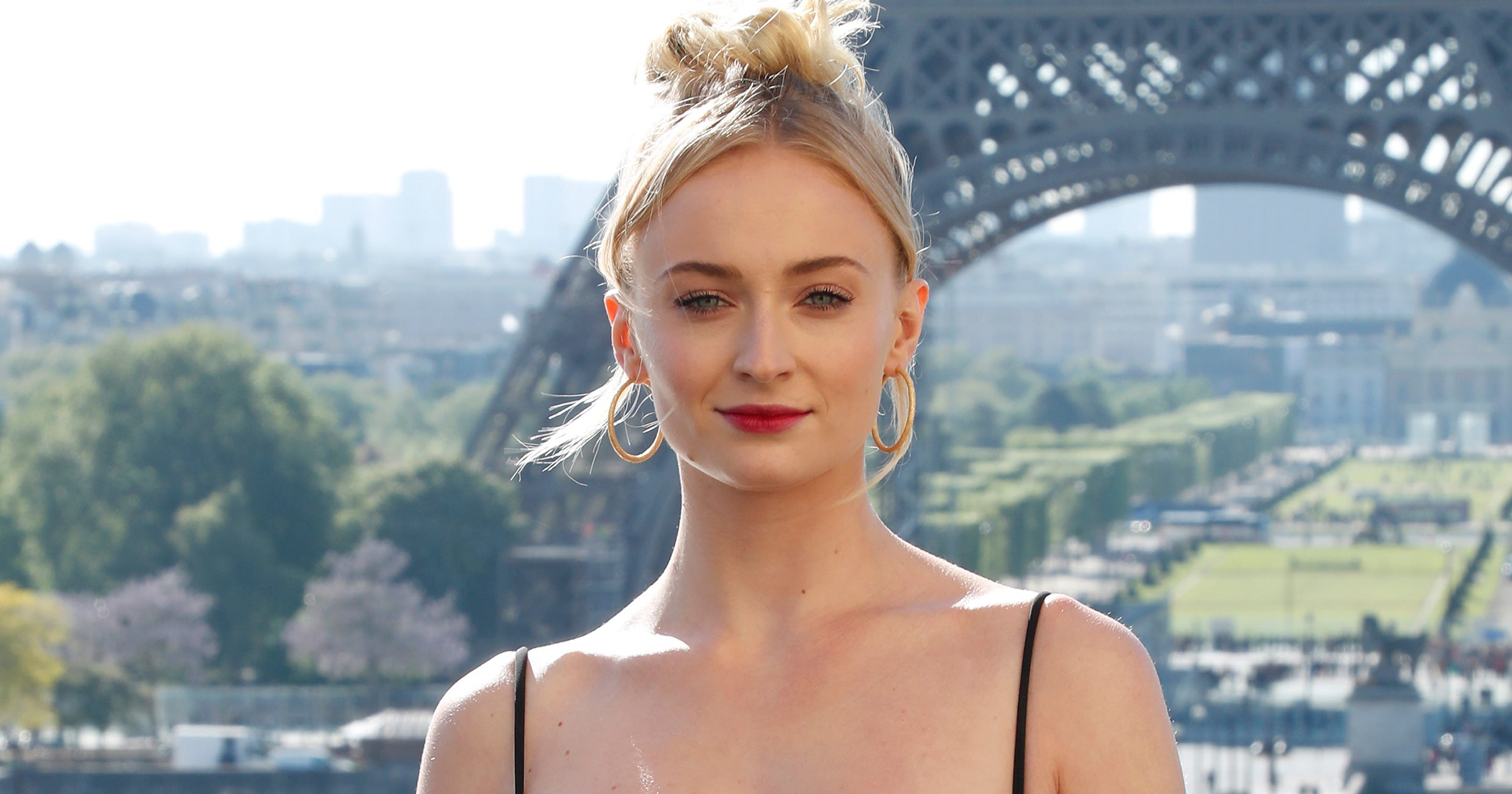 10515999 Sophie Turner Wore Designer Gym Shorts With This Summer s Top Bikini Style 8211 Refinery29