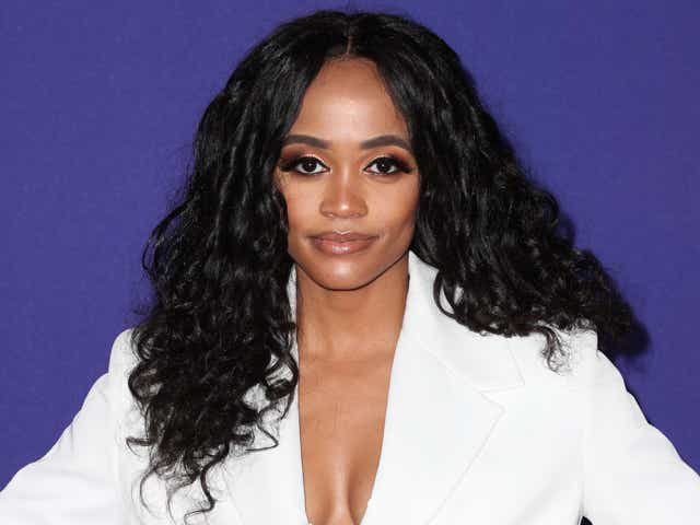 Rachel Lindsay at the MTv Movie and TV Awards.