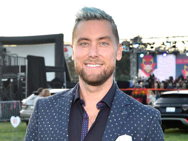 Lance Bass attends the 28th Annual Race To Erase MS: Drive-In Gala at Rose Bowl.