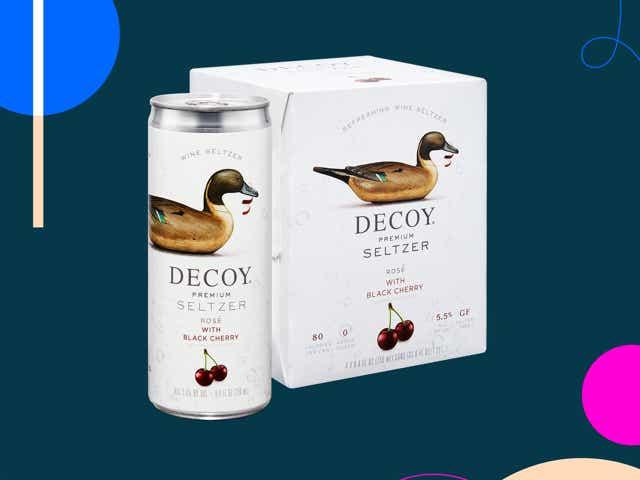 Cherry flavored Decoy wine spritzer
