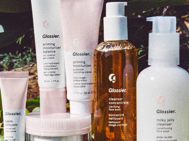 Glossier Products.