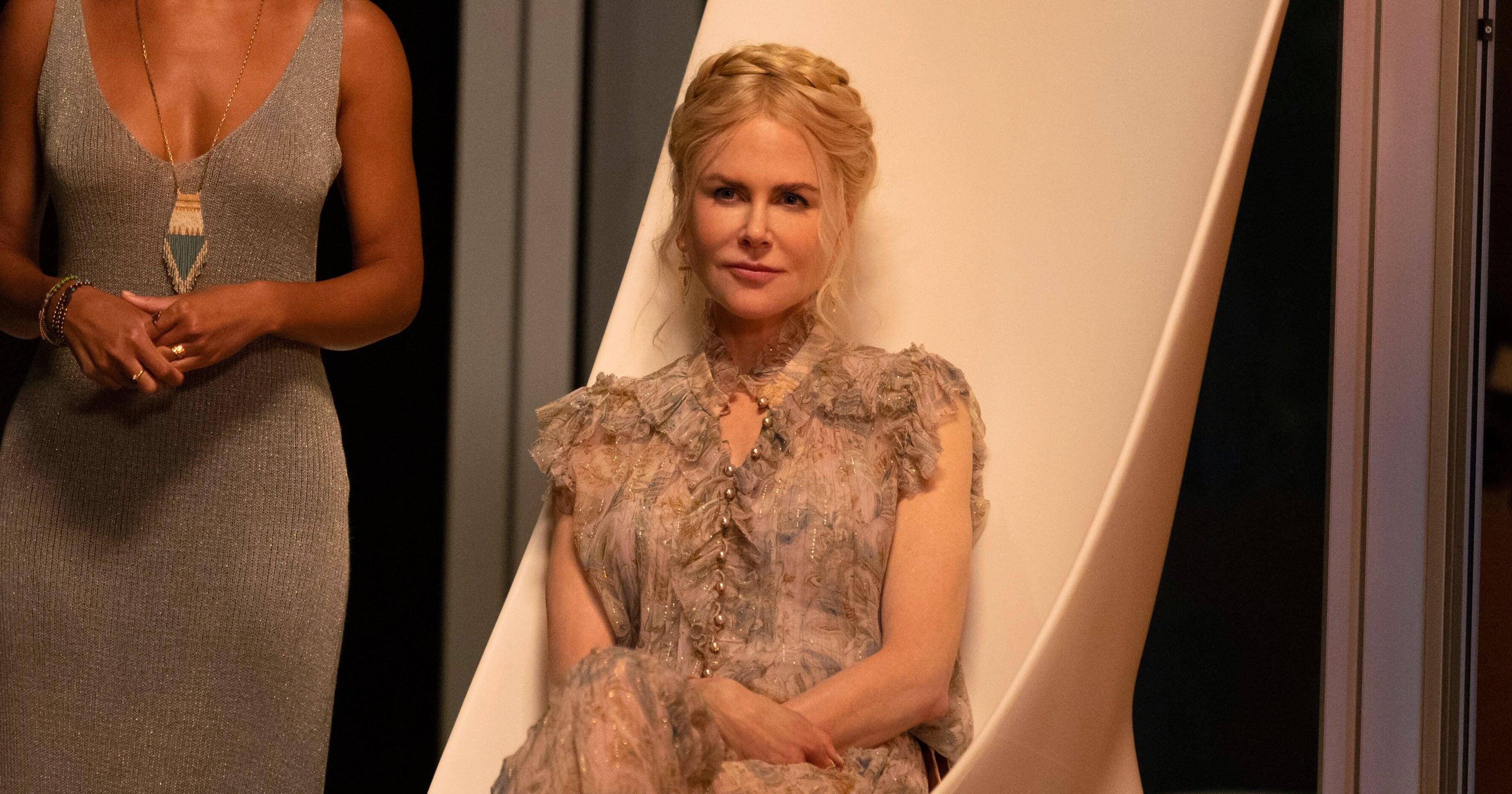 Nicole Kidman's Accent Puts The Strange In Hulu's Nine Perfect Strangers