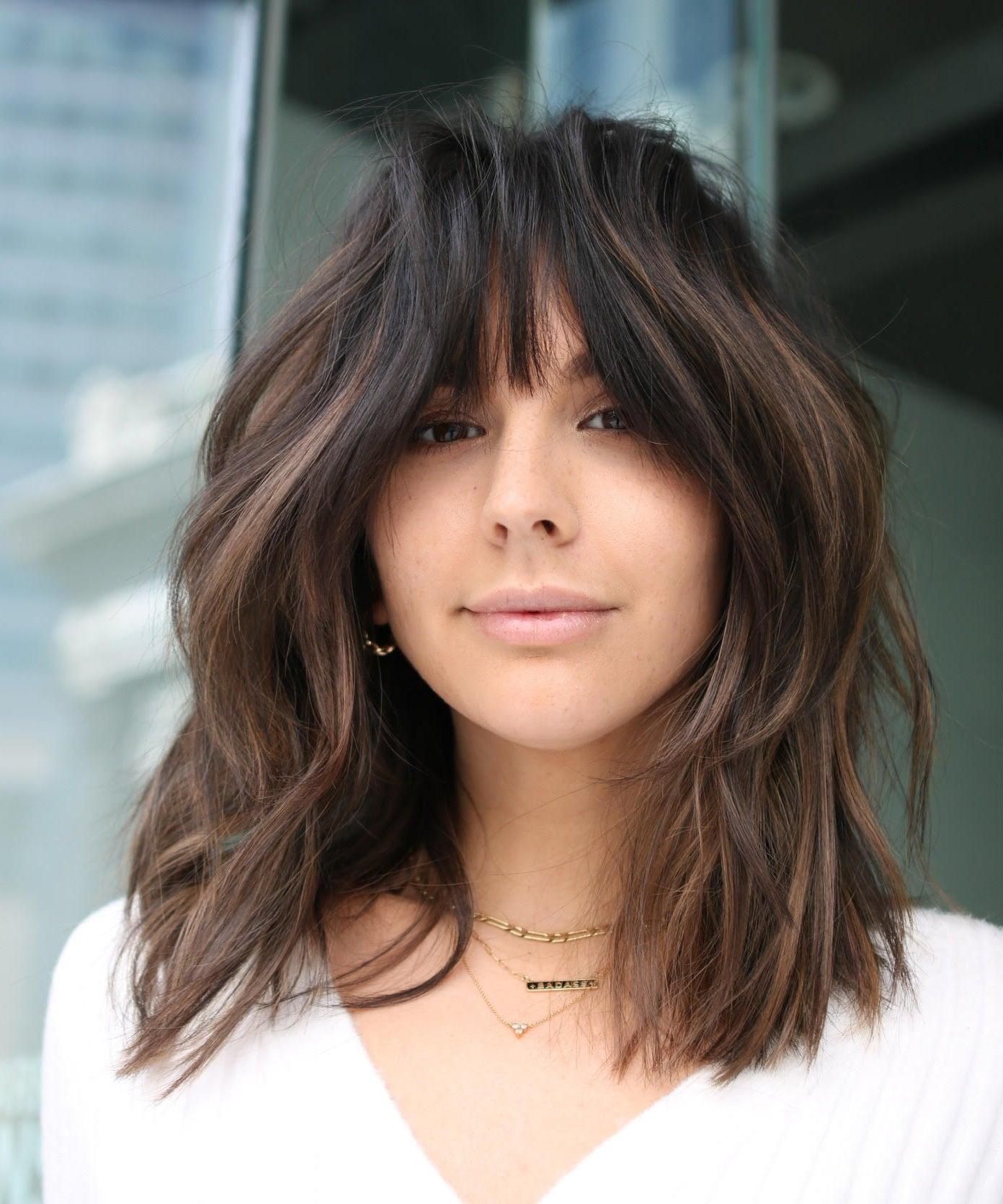 Bangs Haircuts Trend Everywhere For Summer, Fall 18