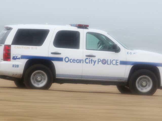 Ocean City, Maryland Police Car
