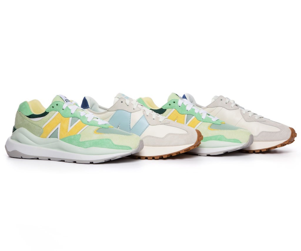 New Balance x STAUD Is Back With Tenniscore Styles & Colorful Sneakers