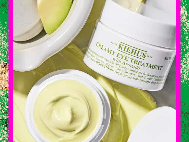 Kiehl's Creamy Eye Treatment with designed border.