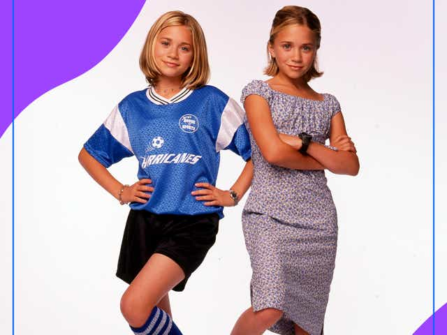 ASHLEY AND MARY-KATE OLSEN in Switching Goals.