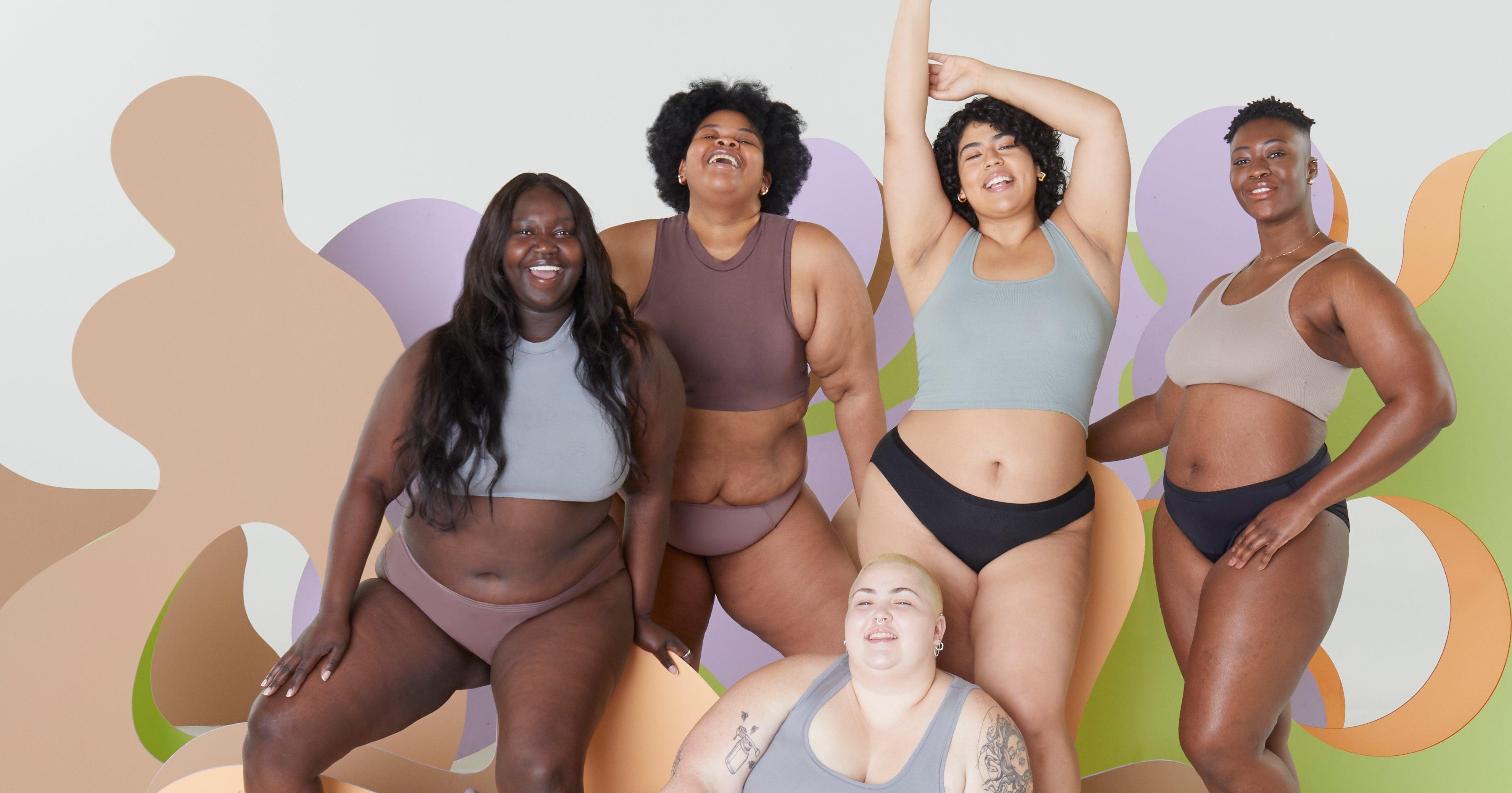 Thinx Launches Revamped Period Underwear In Plus Sizes