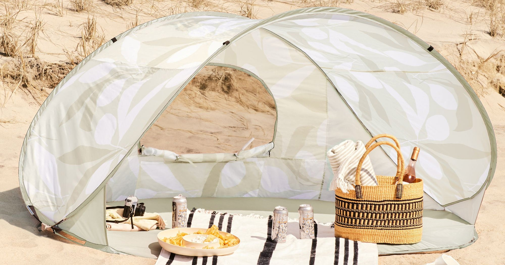 7 Tents You Can Easily Tote To The Beach