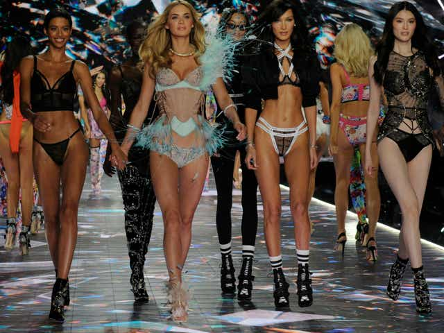 Victoria's Secret's legendary Angels take to the runway for the 2018 Victoria's Secret Holiday Special.