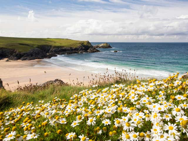Newquay in Cornwall, one of the world's most Instagrammed wedding locations