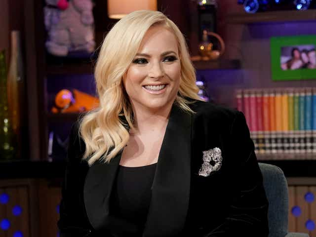 Meghan McCain on Watch What Happens Live with Andy Cohen.