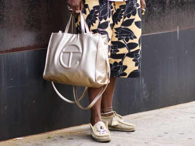 Gold Telfar Bag