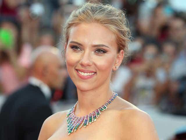 Actress Scarlett Johansson attends 'Under The Skin' Premiere.