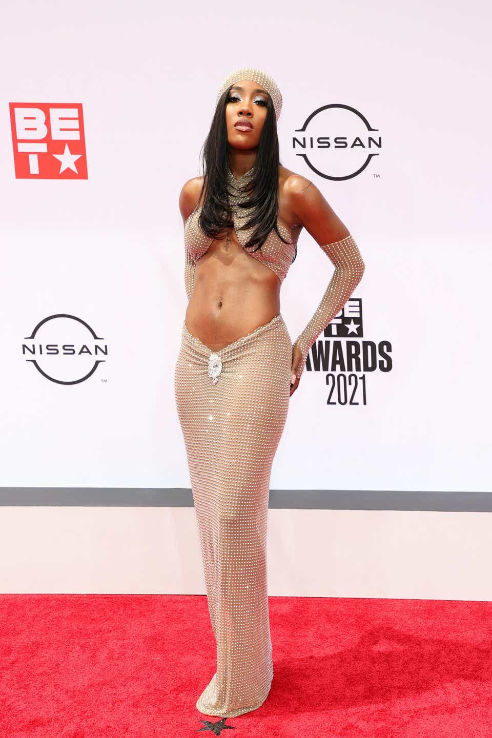 Sevyn Streeter attends the BET Awards 2021 at Microsoft Theater