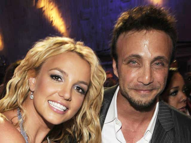 Britney Spears Larry Rudolph