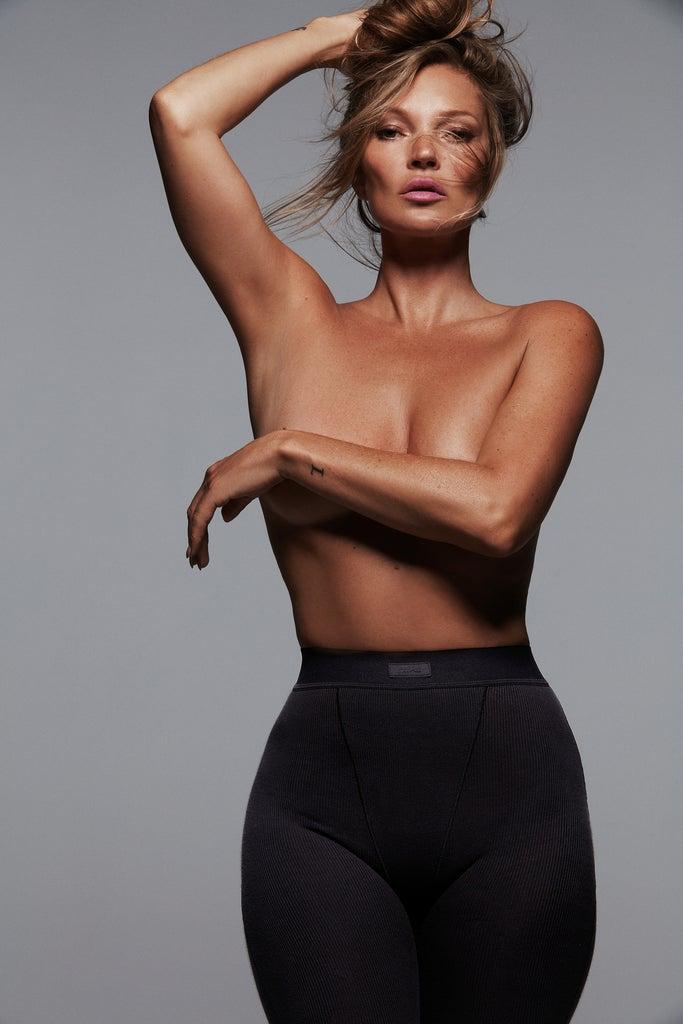 Kim Kardashian's SKIMS Tapped Kate Moss For New Campaign