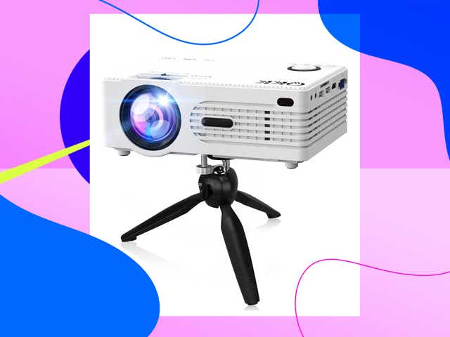 Projector with stand