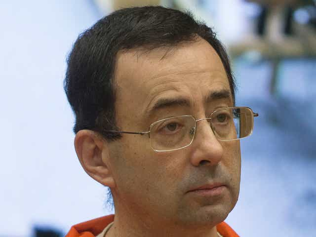 Former Michigan State University and USA Gymnastics doctor Larry Nassar appears in court for his final sentencing phase.