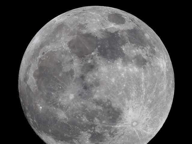 The full moon in Aquarius