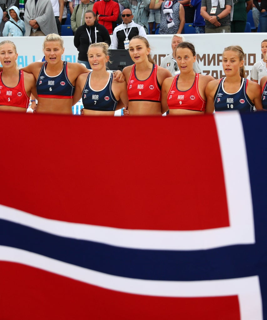 These Female Athletes Got Fined For Wearing Shorts Instead Of Bikinis