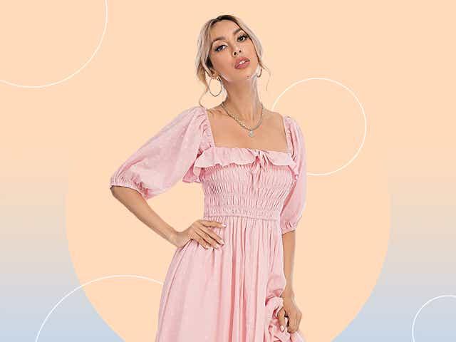 Viral Amazon pregnancy dress