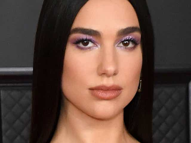 Dua Lipa attends the 63rd Annual GRAMMY Awards at Los Angeles Convention Center.