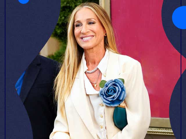 Sarah Jessica Parker films scenes for 'And Just Like That' on July 23, 2021 in New York City.