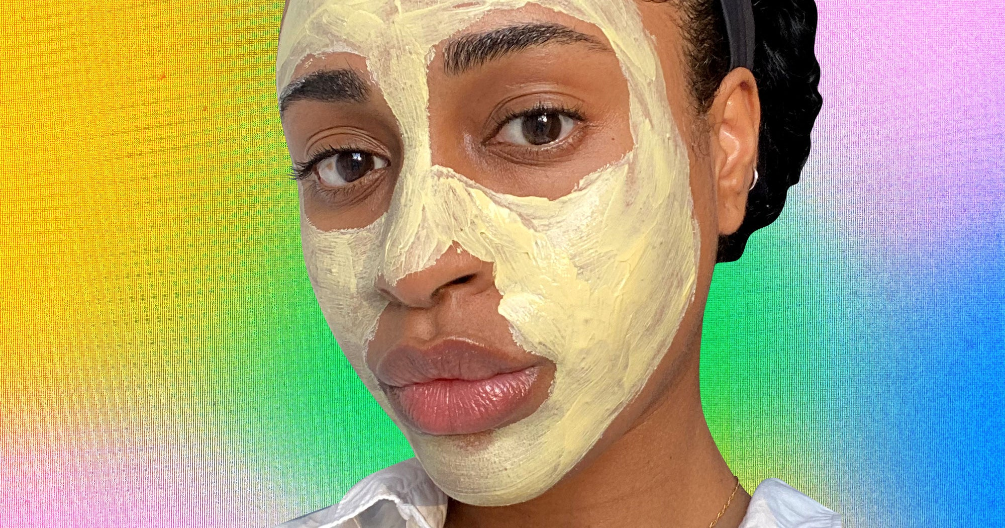 The Serum & Clay Mask Combo That Helped My Acne Scars