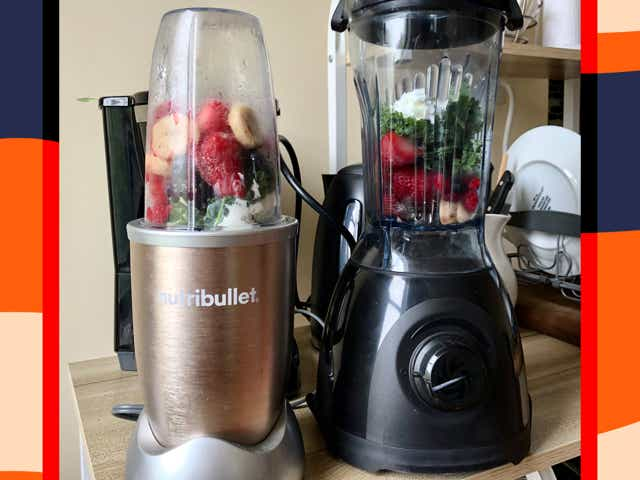 Nutribullet and Vitamix blenders