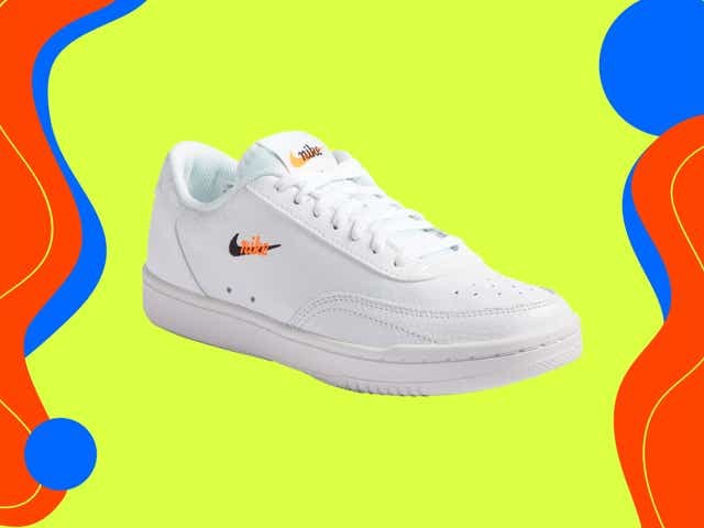 vintage inspired white sneaker from airforce 1