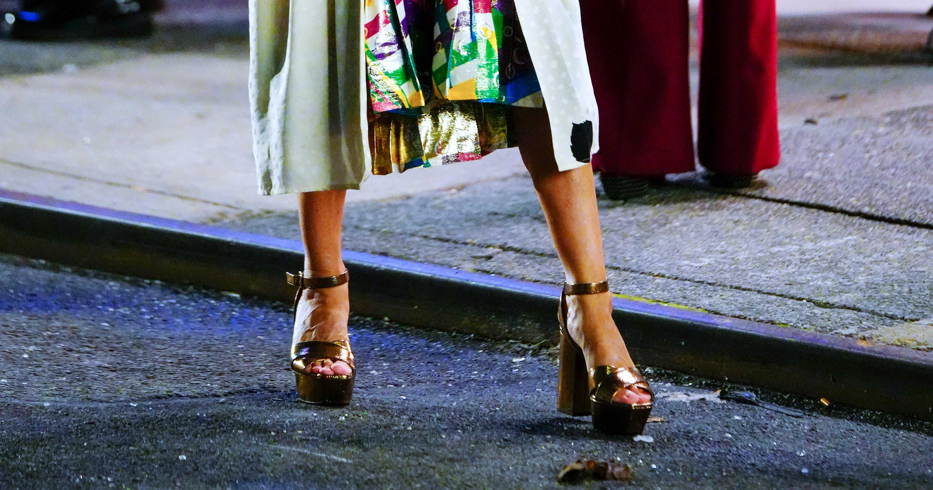 Ankles Beware: Platform Heels Are Trending, Thanks To Carrie Bradshaw
