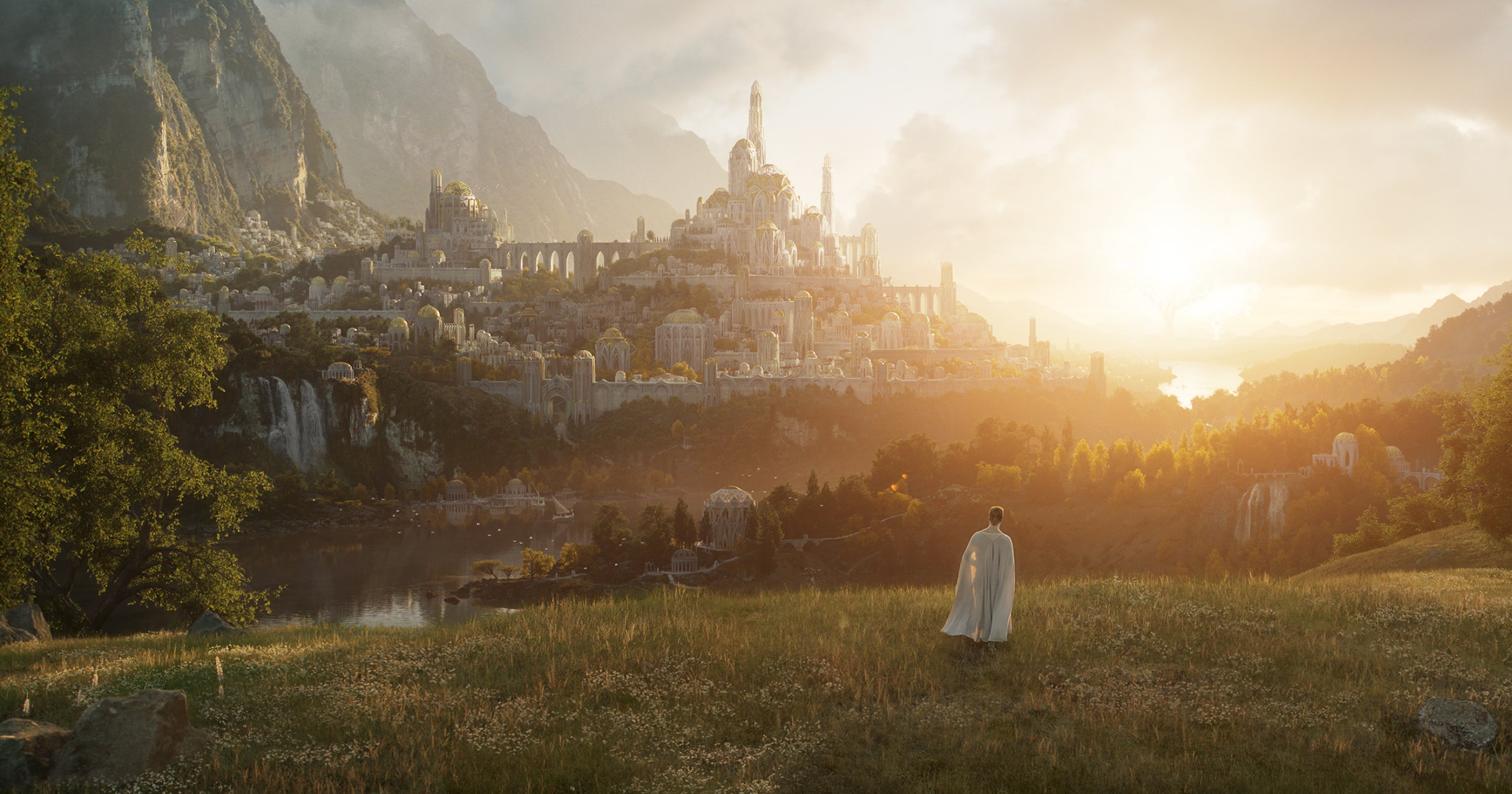 Amazon Prime's Take On Lord Of The Rings Lore Looks Stunning