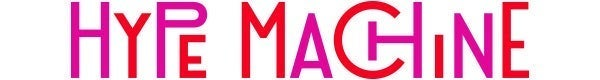 Hype Machine logo in pink and red.