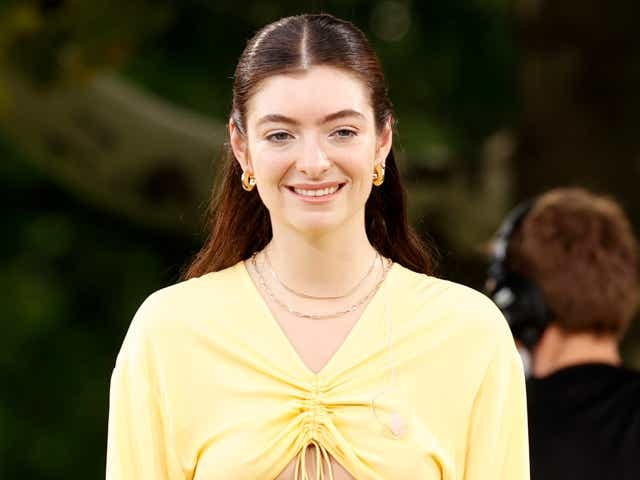 """Lorde performs at """"Good Morning America's"""" Summer Concert Series."""