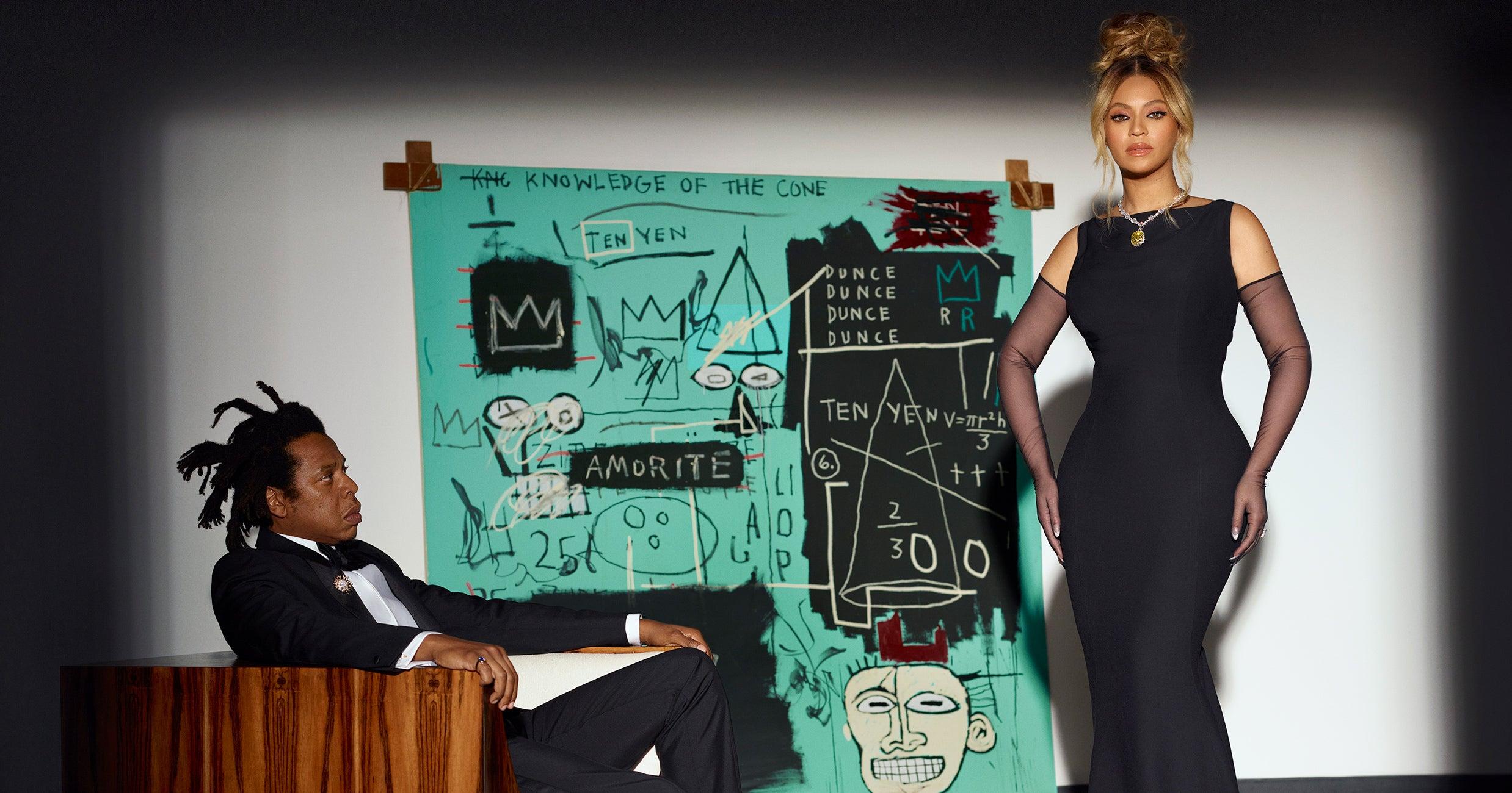 Beyoncé Channeled Audrey Hepburn In A 128-Carat Diamond Necklace