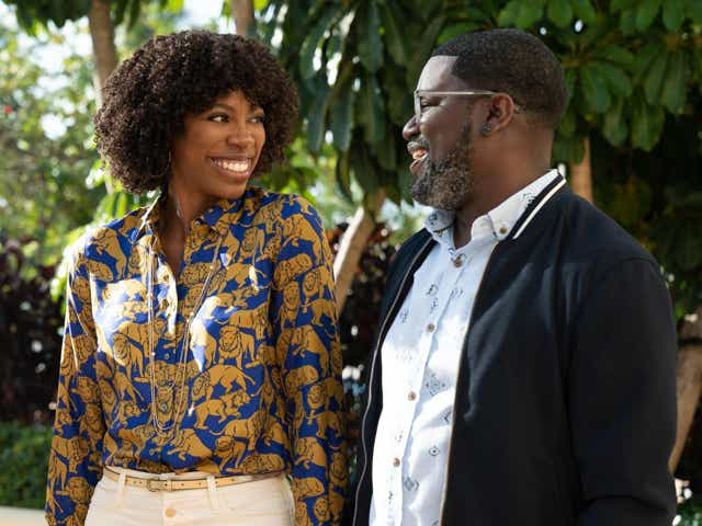 Lil Rel Howery and Yvonne Orji