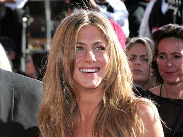 Actress Jennifer Aniston attends the 56th Annual Primetime Emmy Awards.